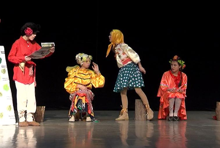 В Амурском колледже культуры состоялся региональный фестиваль «Азбука театра»