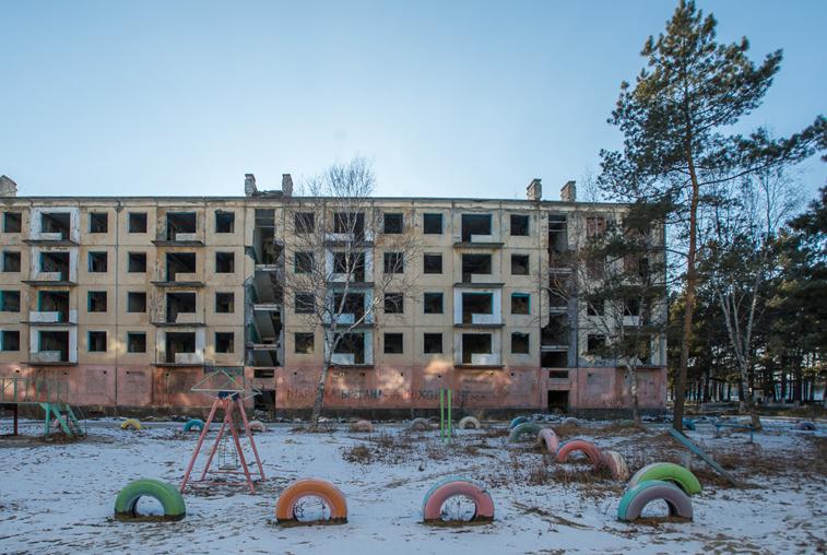 Около 80 аварийных зданий бывших амурских военных городков будут снесены