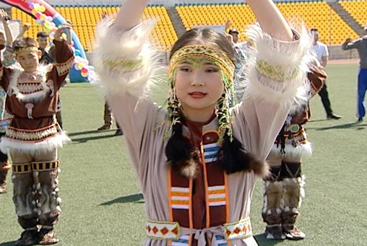 Ловля хариуса и эвенкийский футбол: фестиваль народов Севера провели в Благовещенске