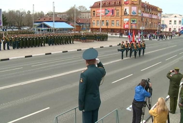 Белогорский парад Победы будут транслировать на всю Россию