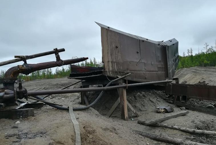 В Тындинском районе незаконно добывали золото
