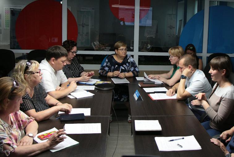 В «Точке кипения» состоялось заседание Минобрнауки Амурской области