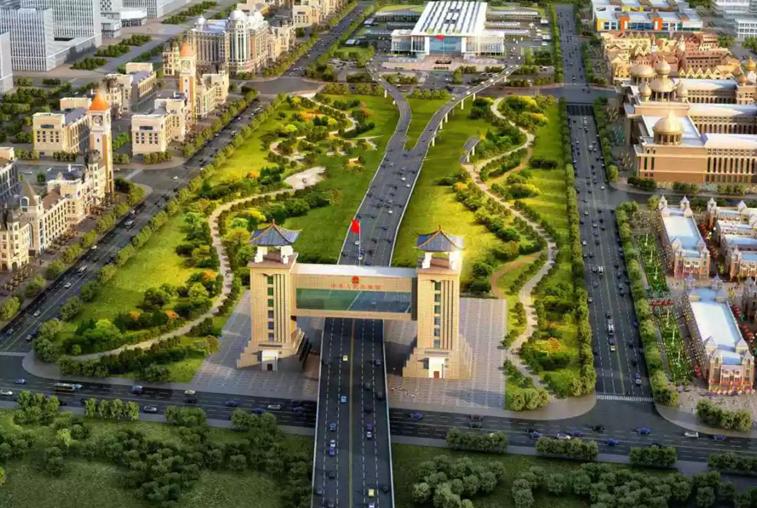 Китайские СМИ показали проектные рисунки пункта пропуска в Хэйхэ