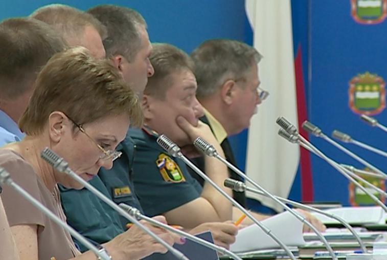 На заседании КЧС обсудили паводковую ситуацию в области