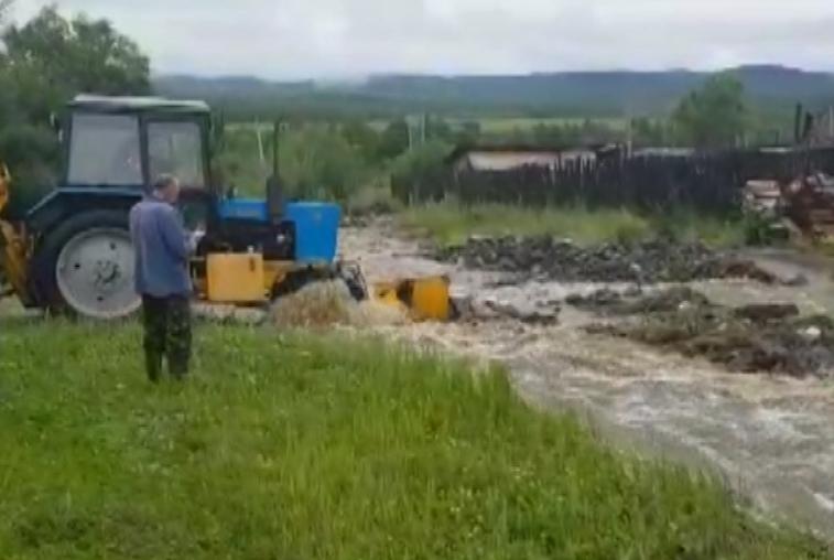Уровень воды в реке Уркан близок к категории «Опасное явление»