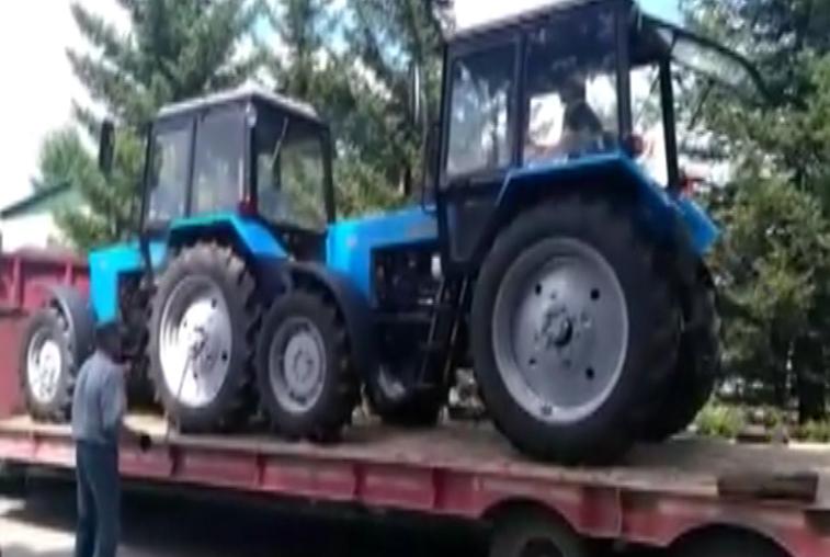 Зейский лесхоз продолжает обживаться новой техникой