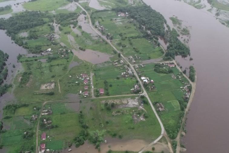 Из-за паводка в Зейском районе нарушено транспортное сообщение