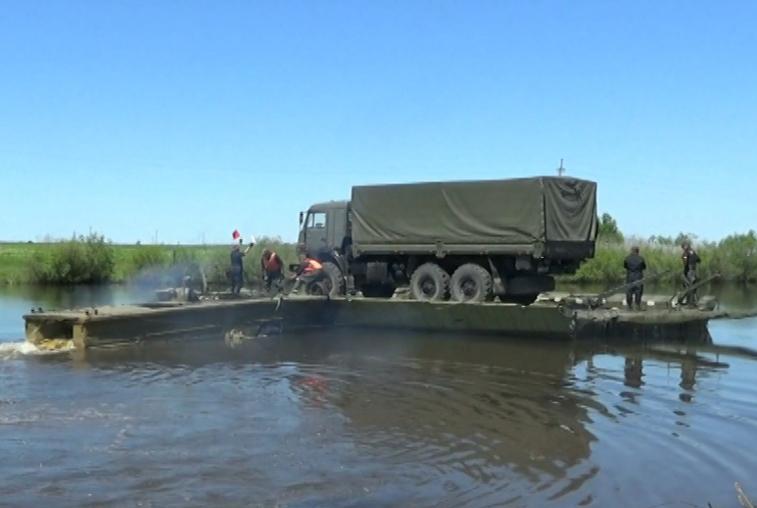 Инженерные подразделения ВВО приведены в повышенную боеготовность