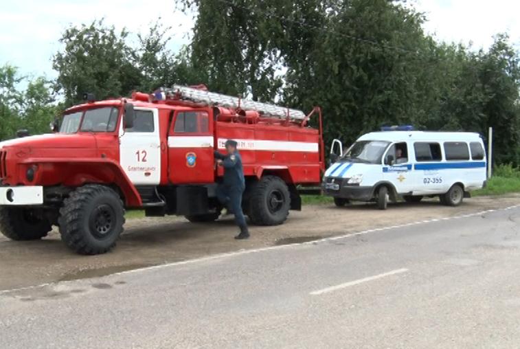 В селе Владимировка объявили эвакуацию: ожидается подтопление