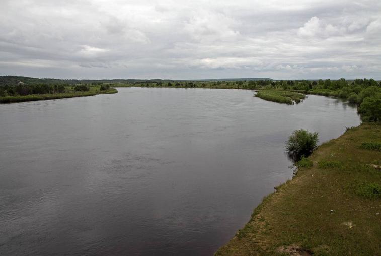 Гидрологи зафиксировали повышение уровня воды в реке Томь