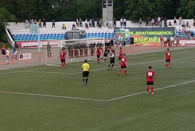 ФК «Благовещенск» уступил «Сахалину» в кубковом матче