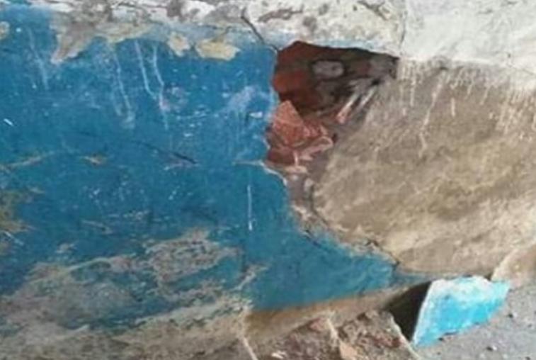 В Возжаевке обрушилась стена жилого дома
