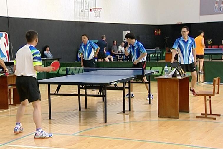 Амурские теннисисты померились мастерством с соперниками из Поднебесной