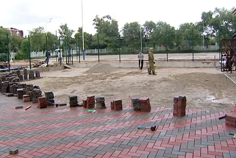 Модернизация стадионов: спортивные возможности учащихся благовещенских гимназий расширятся