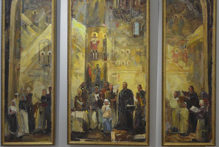 Графика и живопись: В областном краеведческом музее открылась выставка работ Максима Финашина