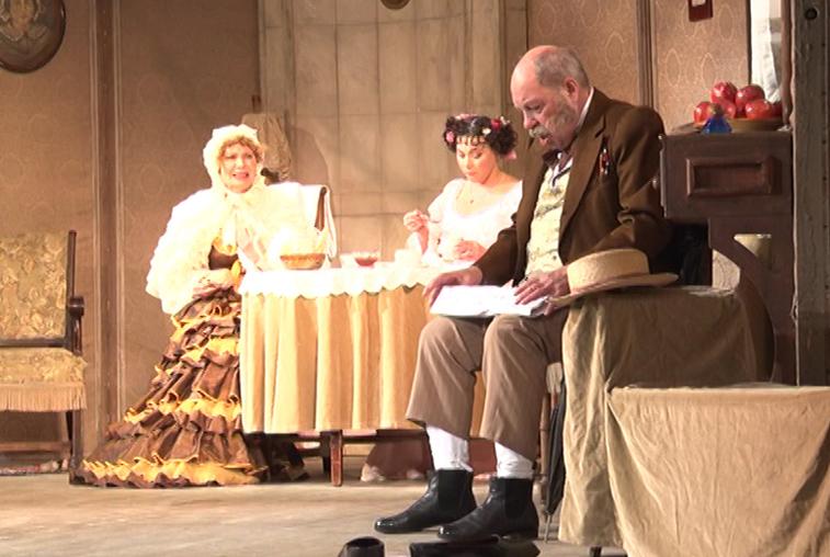 В Благовещенске впервые выступили артисты Малого театра