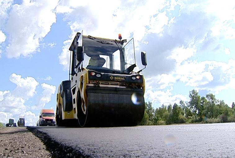 В области ведут тестовый ремонт дороги по принципу «жизненного цикла»