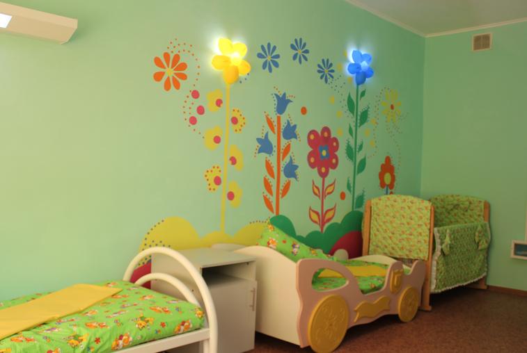 Сотрудники Константиновской больницы преобразили детское отделение