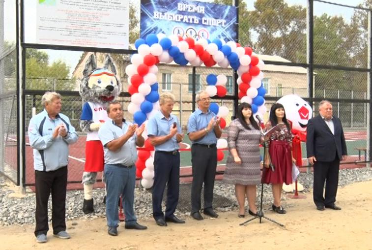 Спортивное развитие сельских районов: В микрорайоне Екатеринославки появилось новое футбольное поле