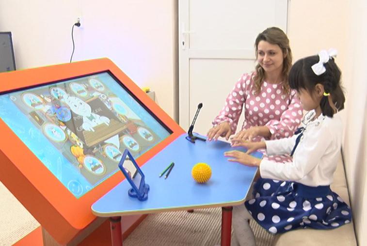 Модернизация учебных заведений: В серышевском детском саду открылась сенсорная комната