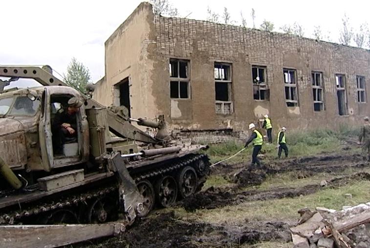 Армейцы ликвидировали ветхие объекты Минобороны в нескольких районах Приамурья