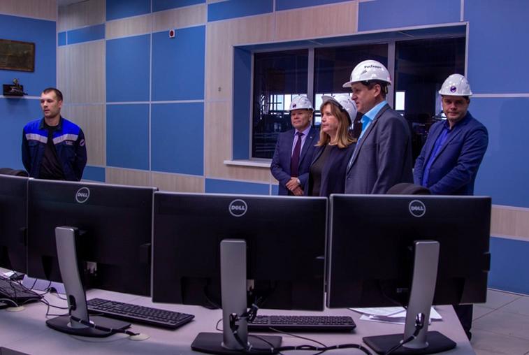 Замена теплотрассы и реконструкция оборудования: Мэр города проверила готовность Благовещенской ТЭЦ к отопсезону