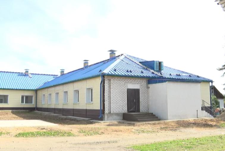 По федеральной программе «Старшее поколение» в селе Новый Быт достраивают новый корпус психоневрологического интерната