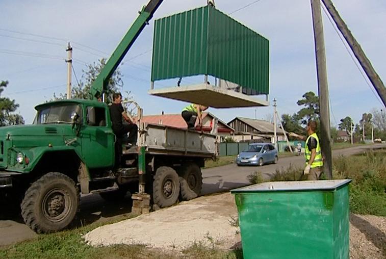 Мусорный контейнер у каждого дома: Жители села Никольское больше не будут самостоятельно вывозить бытовые отходы