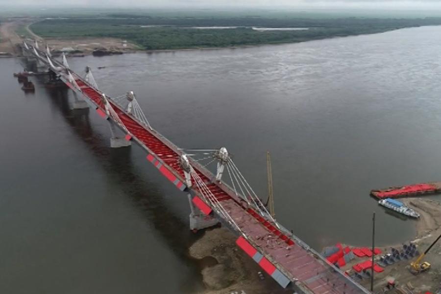 Пункт пропуска у трансграничного моста «Благовещенск-Хэйхэ» должен заработать в 2022 году