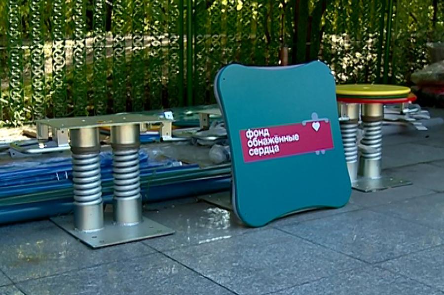 Детская инклюзивная площадка создается в Первомайском парке Благовещенска