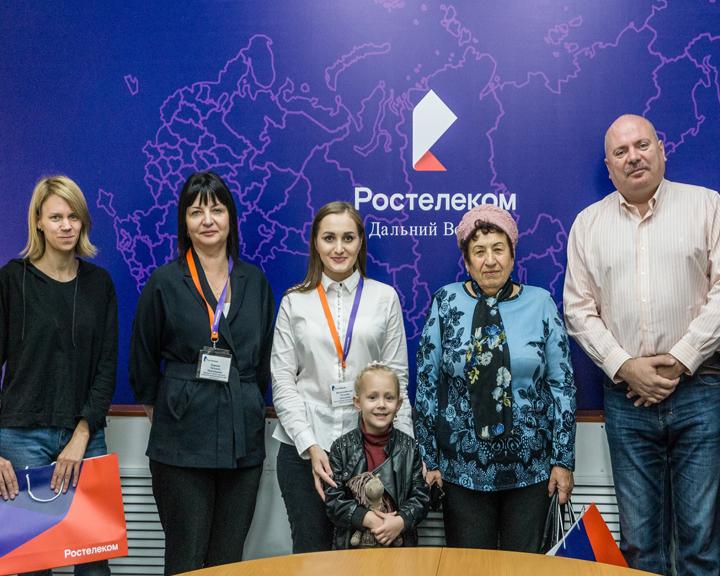«Ростелеком» наградил почетных клиентов в Амурской области