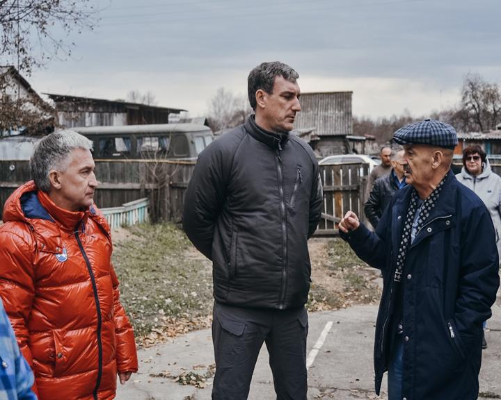 Глава региона навестил подтопленцев Селемджинского и Мазановского районов