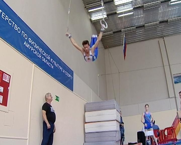 В Благовещенске проходит дальневосточный этап первенства России по спортивной гимнастике
