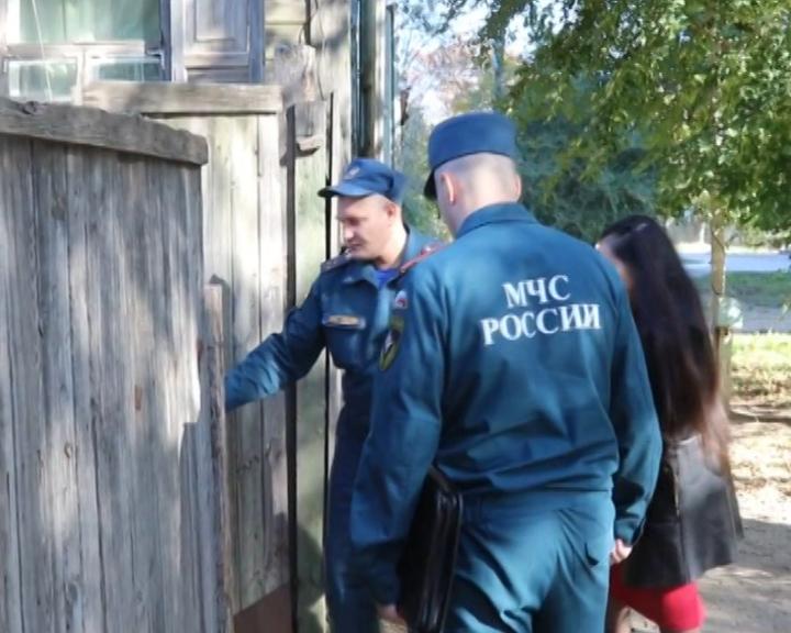 Инспекторы Госпожнадзора проводят профилактические рейды в частном секторе