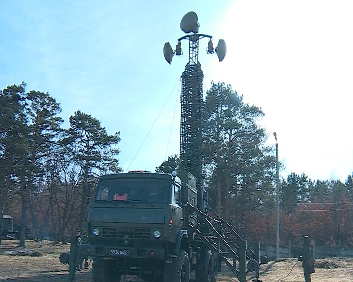 600 цифровых километров: марш-бросок с установкой высокоскоростной линии связи совершили амурские военные