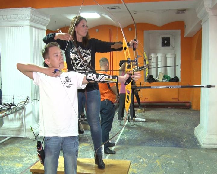 В областном центре прошли соревнования по спортивной стрельбе из лука