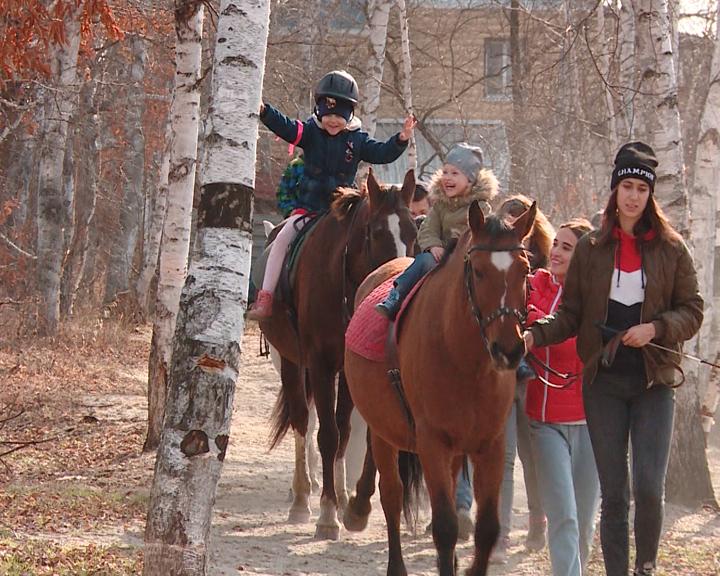 Проект «Поход за здоровьем» конного клуба «КонТур» помог детям освоить верховую езду и преодолеть страхи