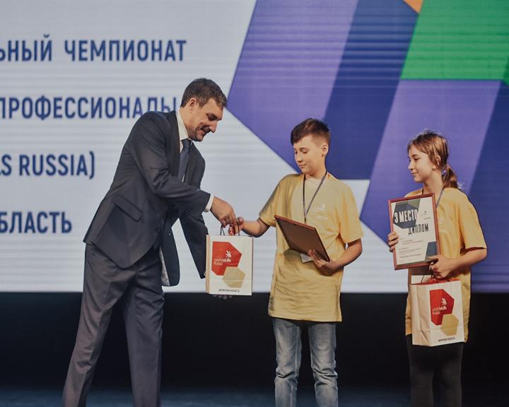 В областной столице сегодня наградили участников и победителей чемпионата WorldSkills