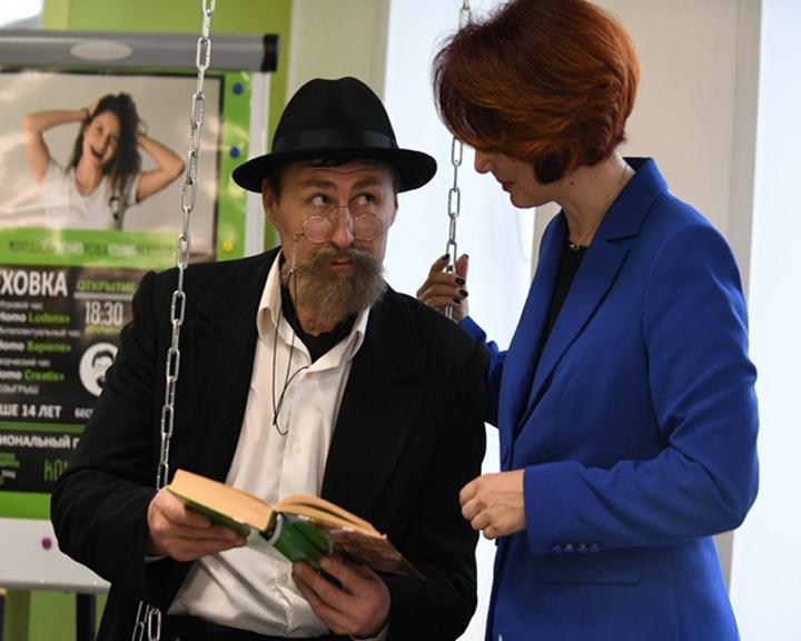 Модель современной публичной библиотеки открылась в Благовещенске