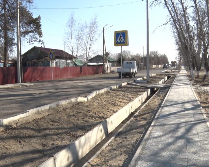 Ремонт участка дороги в Константиновке близится к завершению