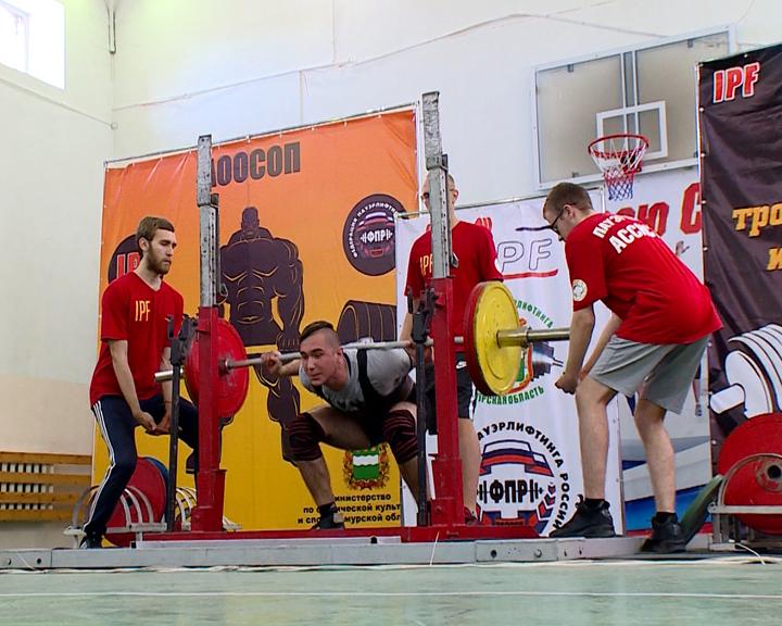 В Благовещенске прошел областной чемпионат по пауэрлифтингу