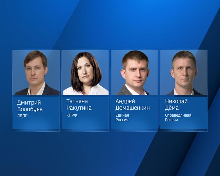 На кресло депутата областного Заксобрания претендуют 4 кандидата