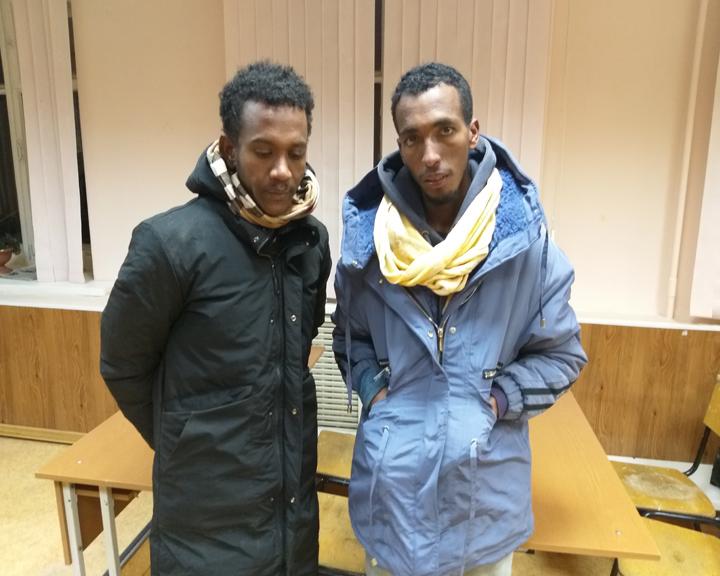 В поисках лучшей жизни: Амурские пограничники задержали 2 граждан Эфиопии, пытавшихся нелегально проникнуть в Россию