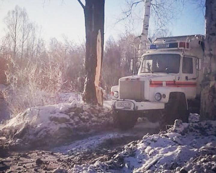Работника Зейского лесхоза спасли из амурской тайги