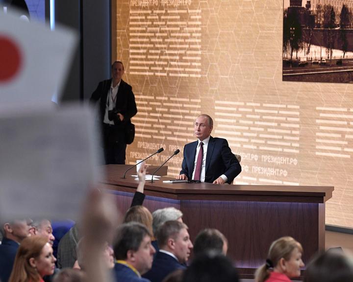 ДВ гектар, авиасубсидии, льготная ипотека — об этом и не только спрашивали Владимира Путина на ежегодной пресс-конференции
