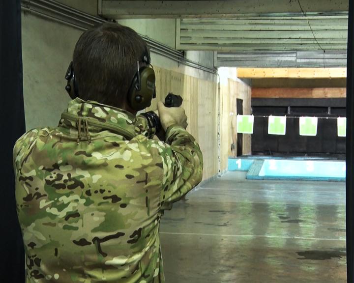 Команда ДВОКУ стала лучшей в соревнованиях по стрельбе из пистолета