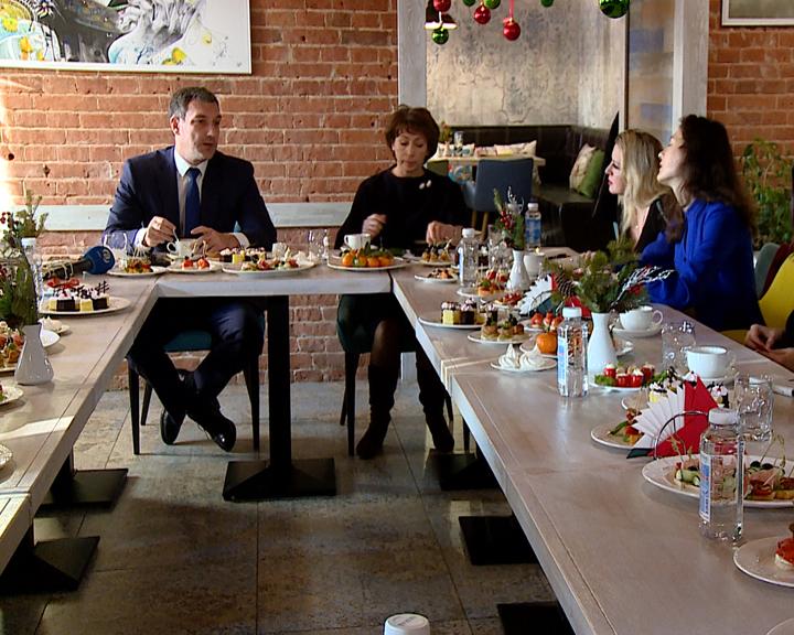 Василий Орлов на пресс-завтраке с представителями СМИ обсудил перспективы 2020 года