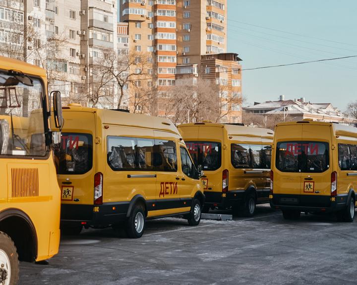 Купили с запасом: 39 новых автобусов отправились в школы области