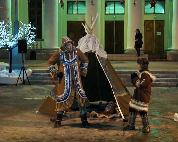 Жители Благовещенска познакомились с особенностями празднования Нового года у амурских эвенков