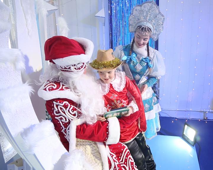 Трое амурчан получили новогодние подарки от губернатора области